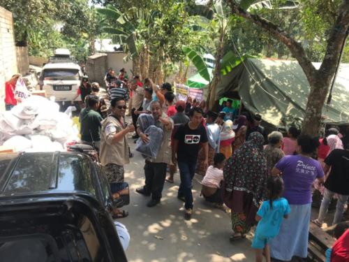 MPCI Peduli Lombok Tahap 2